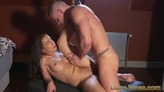 Dane Jones Rampant young lovers fuck and orgasm all over the house