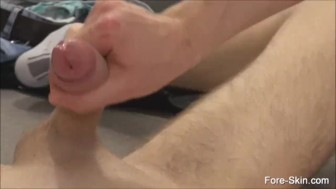 Two Gay Loves To Suck Uncut Cock