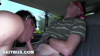 BAITBUS - Cute Guy Gets His Juicy Man Ass Banged By Creepy Straight Bait