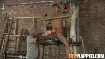 Ashton Bradley has fetish bondage sex with Justin Blaber