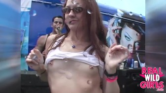 Real Wild Girls Backstage Party Sluts Eating Pussy Onstage