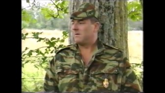 first an unknown soldier, second jean-pierre armand as a soldier.mp4